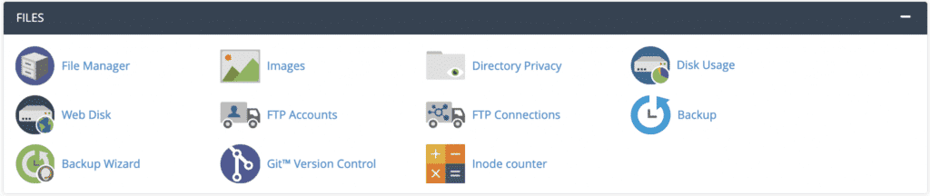 cpanel file modules