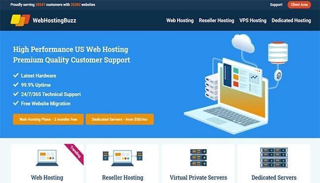 إستضافة ويب هوستنج باز WebHosting Buzz