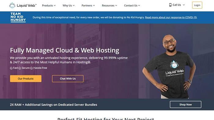إستضافة ليكويد ويب Liquid Web